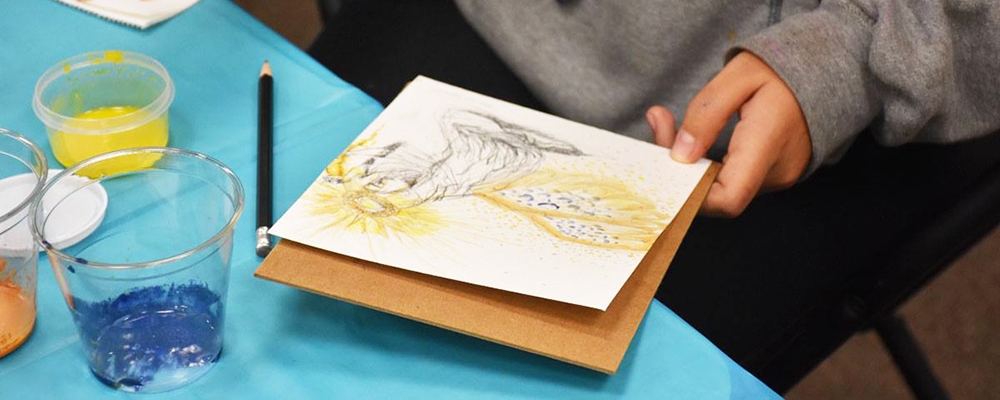 Middle School Artslab: Exploring Space