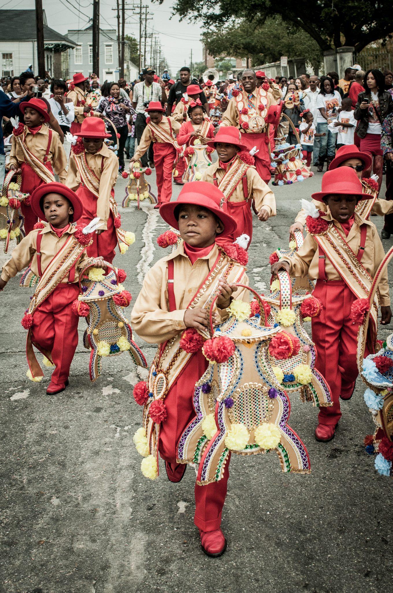 New Orleans Second Line Parades: Photographs by Pableaux Johnson Exhibit