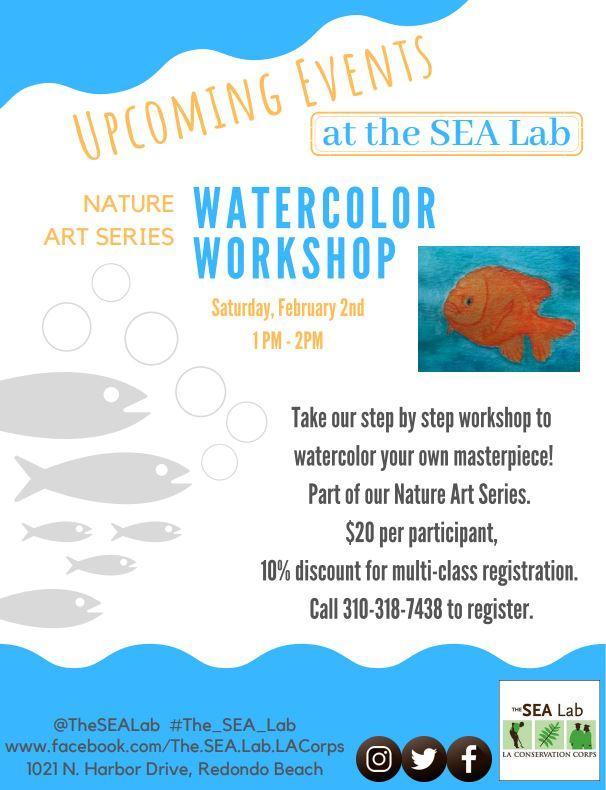 Nature Art Series: Watercolor Workshop