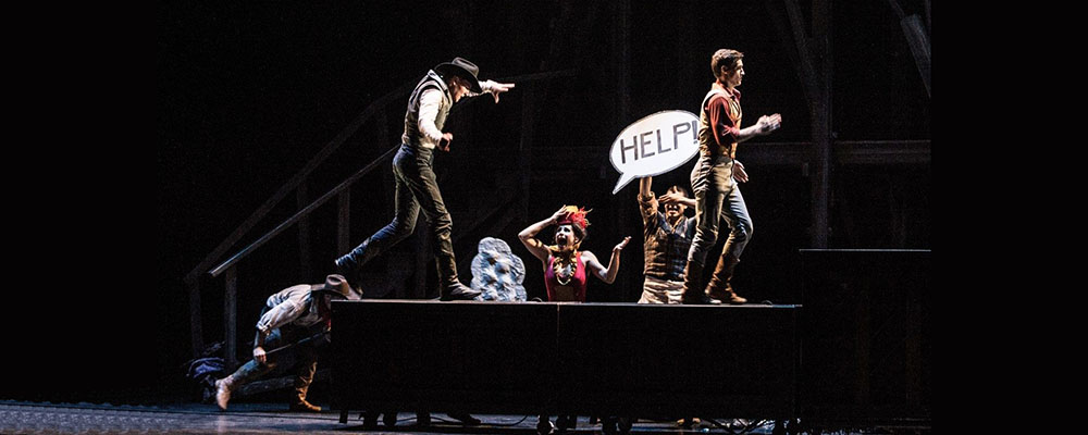 Cirque Eloize's Saloon