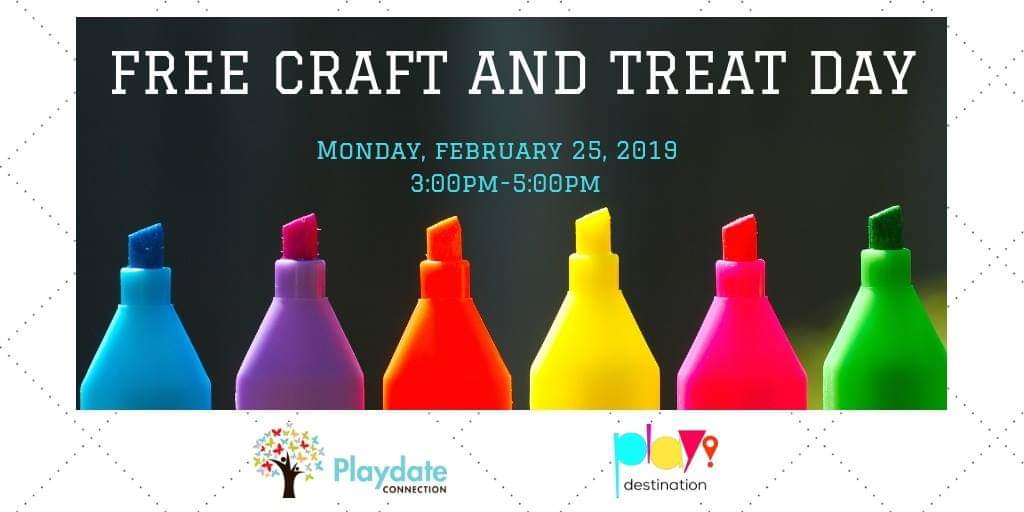Free Craft and Treat Day