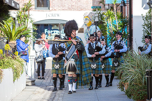 The Pasadena Scots Bagpipes & Drums Performance