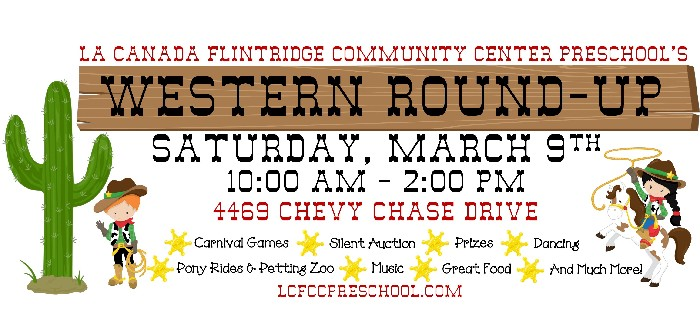 La Canada Flintridge Community Center Preschool's Western Round-Up