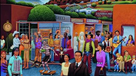 Indian Country: The Art of David Bradley Exhibit