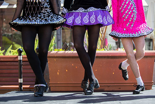 Cleary Irish Dance Performance & Lesson at One Colorado