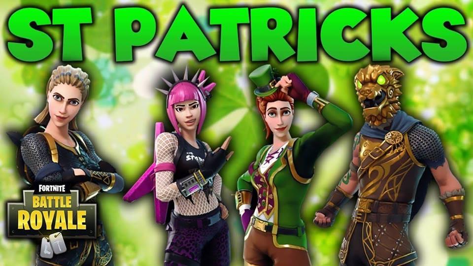 St. Patrick's Day Fortnite Event