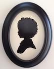 Renowned Silhouette Artist Karl Johnson at Kumquat