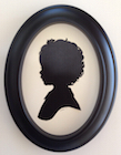 Silhouette Artist Karl Johnson at Monica + Andy