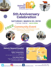 The LAC+USC Medical Center Campus Wellness Center's 5th Anniversary Community Event