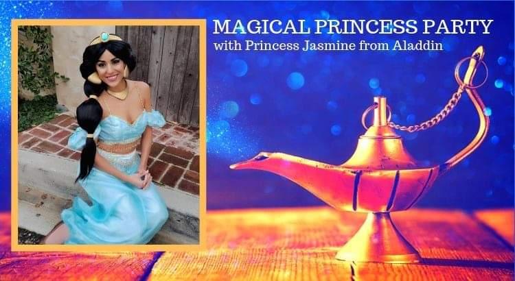 Magical Princess Party with Princess Jasmine from Aladdin