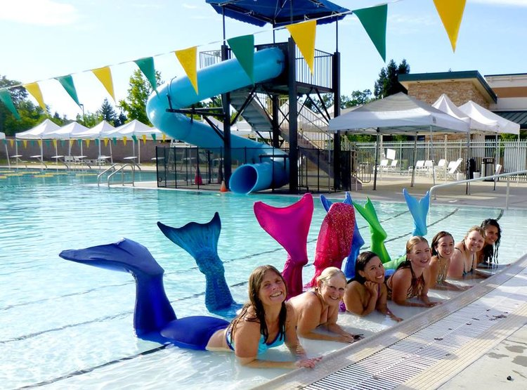 LA Mermaid School Class