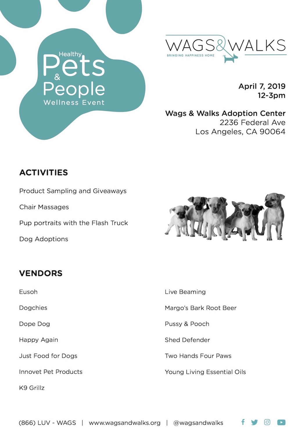 Healthy Pets & People Wellness Event