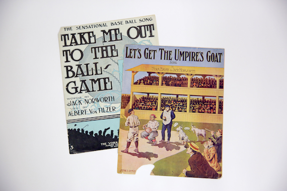 Take Me Out To The Ball Game: Popular Music And The National Pastime Exhibit