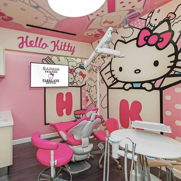 Hello Kitty and Friends at Parklane Dental