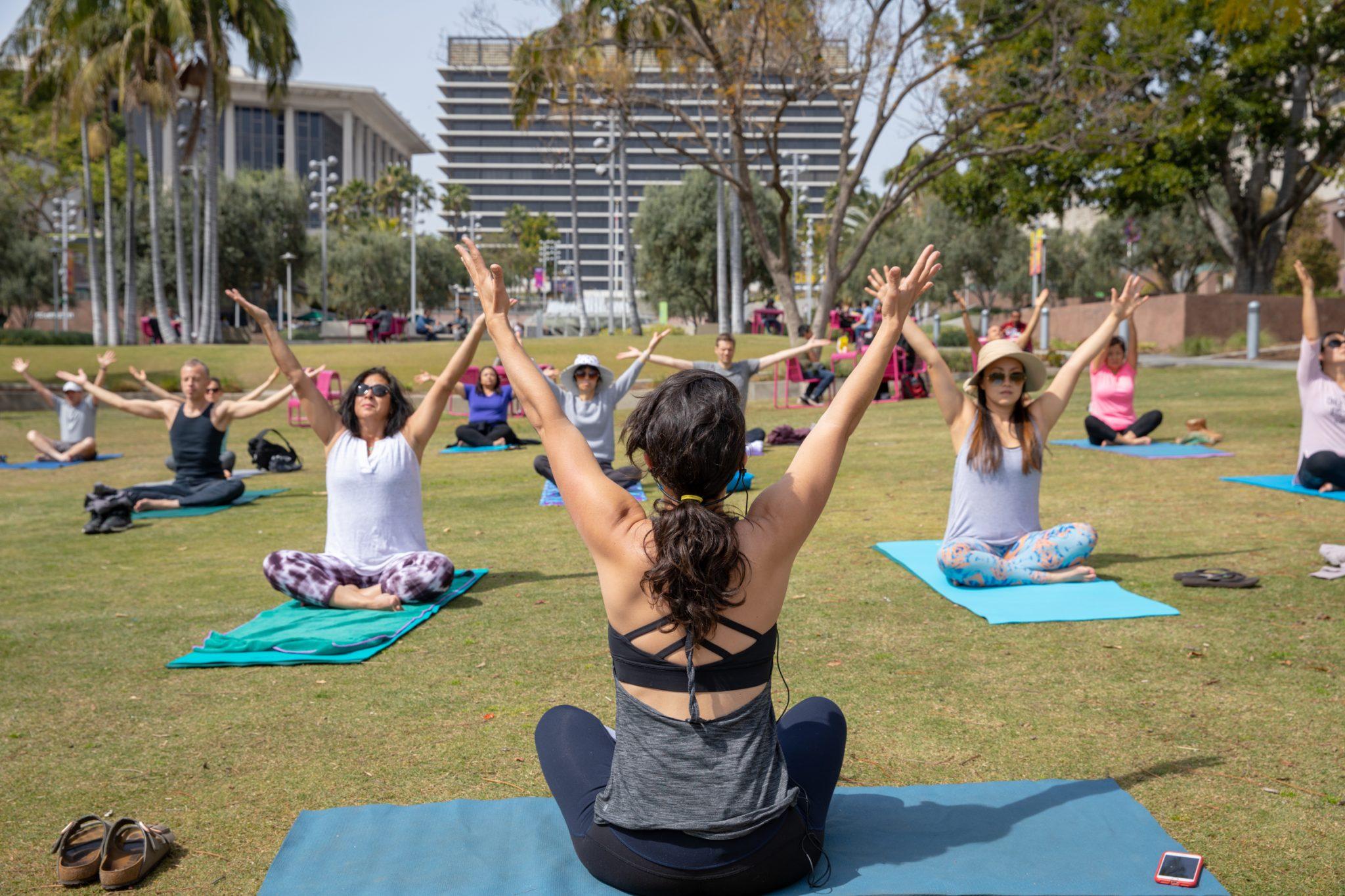 Grand Park Lunch à la Park Yoga reTREAT