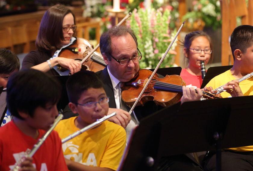 LA Philharmonic's Free Neighborhood Concert