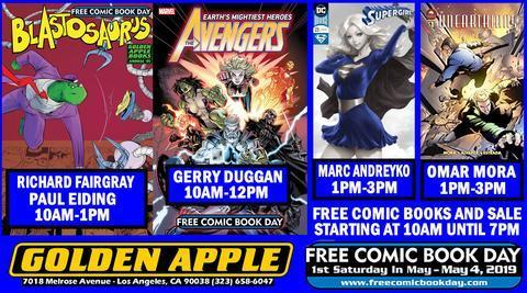 Free Comic Book Day at Golden Apple Comics!