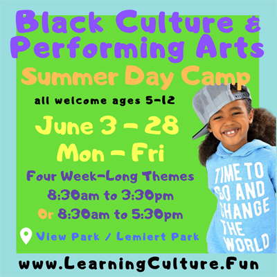 Black Culture & Arts Camp