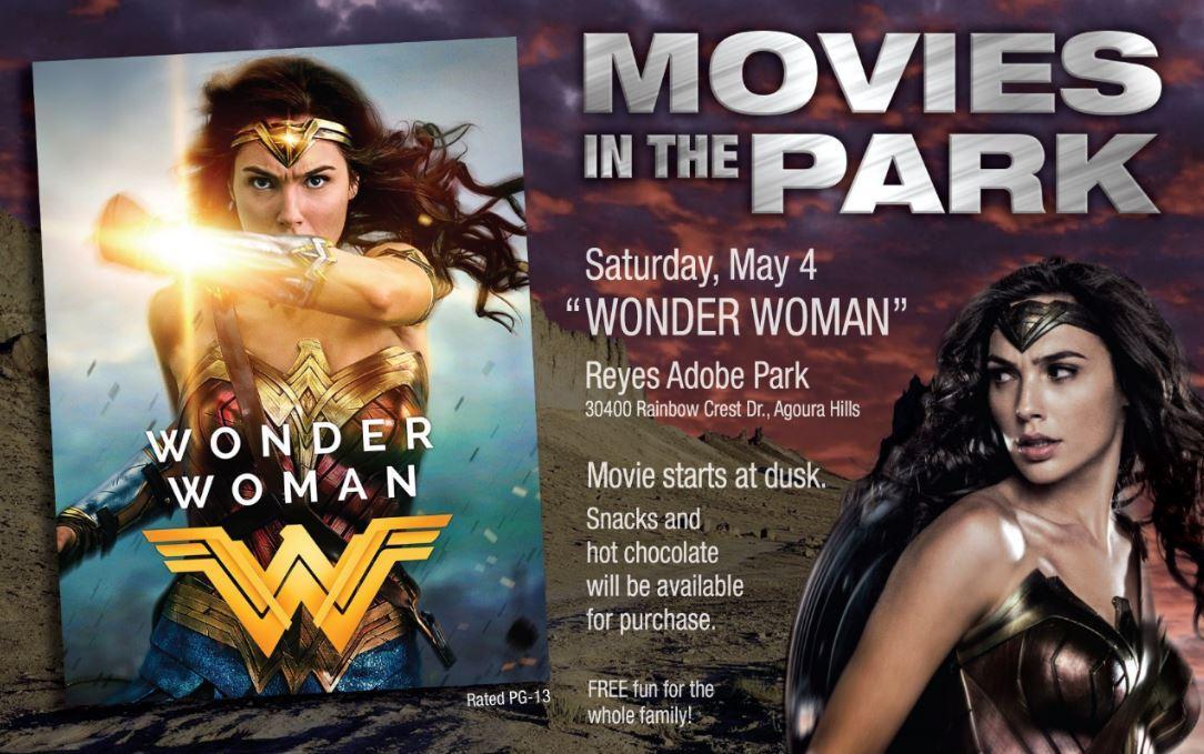 Movie in the Park: Wonder Woman