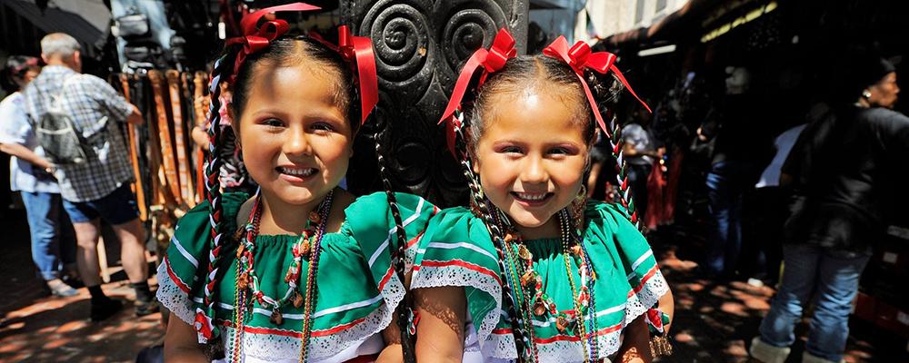 Cinco de Mayo Celebration On Olvera Street
