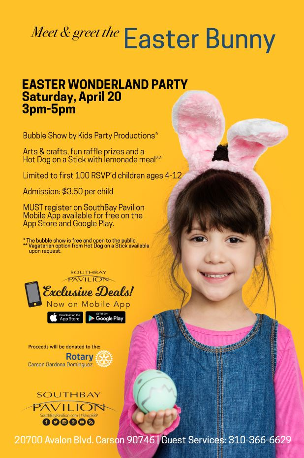 Meet & Greet the Easter Bunny!
