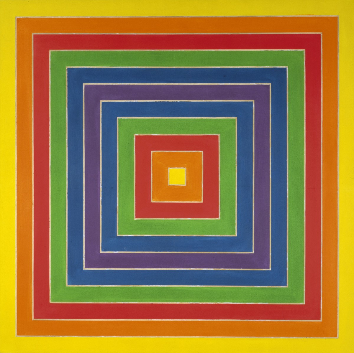 Frank Stella: Selections from the Permanent Collection