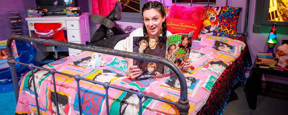 Madame Tussauds Hollywood 90s Pop-Up Experience
