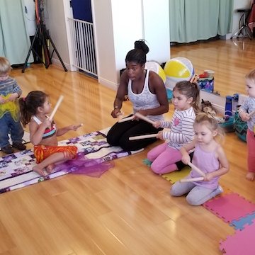 Music Moves In Me: Mommy& Me Toddler Class