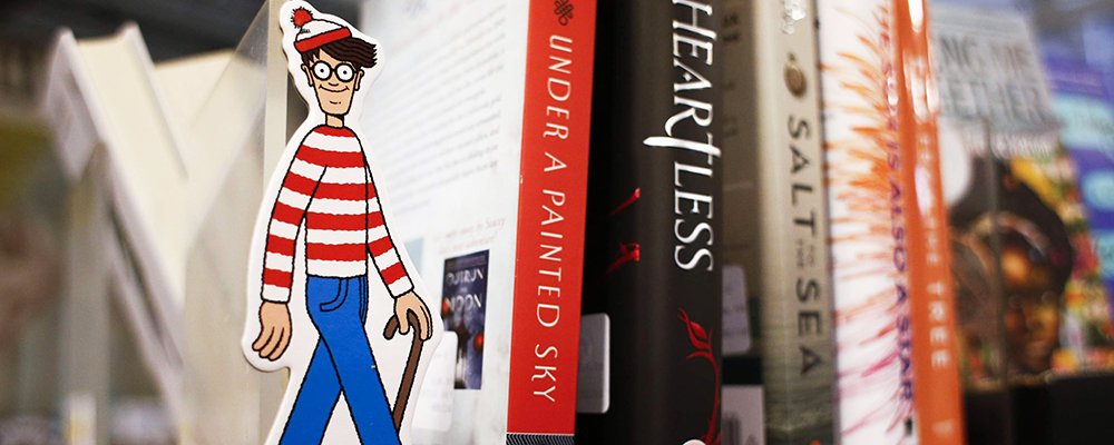 Find Waldo Scavenger Hunt in Brentwood