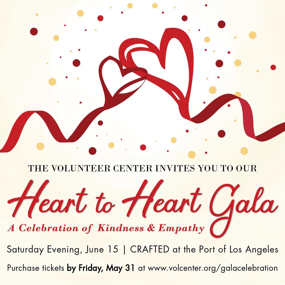 The Volunteer Center's Heart to Heart Gala: A Celebration of Kindness & Empathy