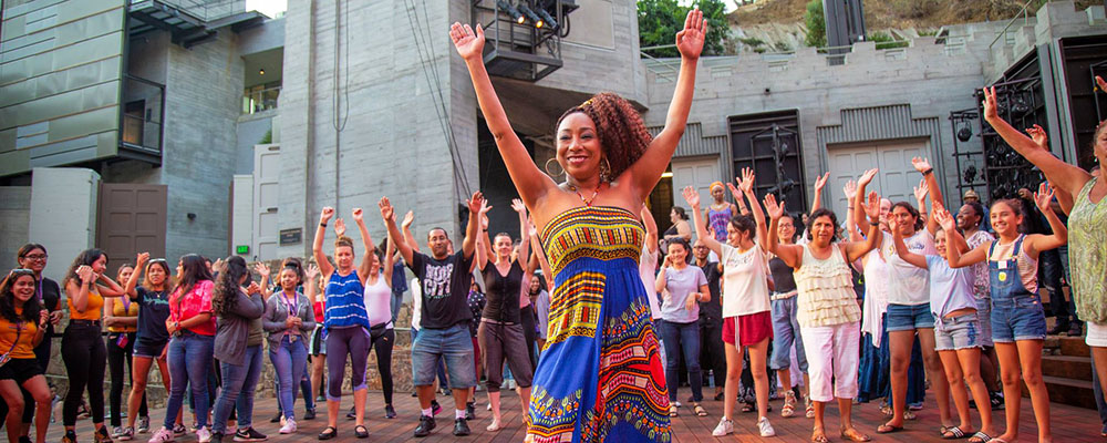 Jam Sessions At The Ford: Afro-Cuban Dance