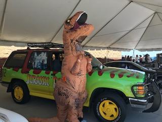 """Walmart Super Bowl Commercial """"Famous Movie Cars"""" Tour"""