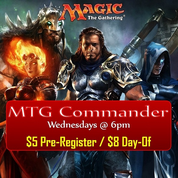Magic The Gathering Commander Tournament