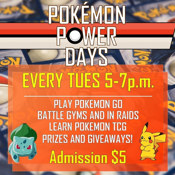 Pokemon Power Days