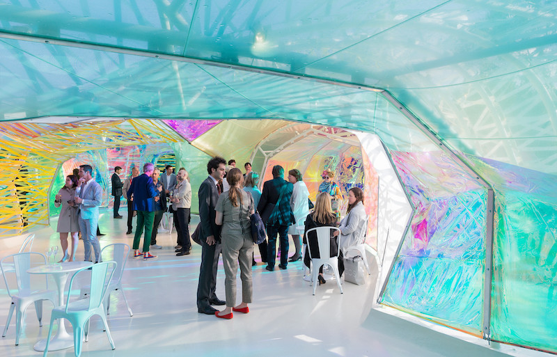 The Second Home Serpentine Pavilion Opening Weekend