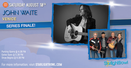 John Waite and Venice In Concert