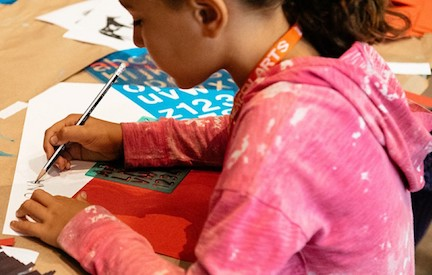 LACMA Family Workshop: Ross Snyder Recreation Center
