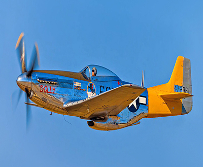 Living History Flying Day: P-51 Mustang