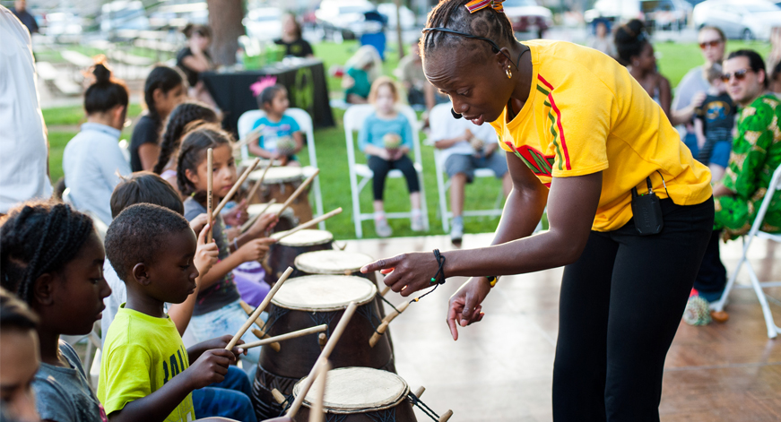 JAM Session: African Dance & Drums