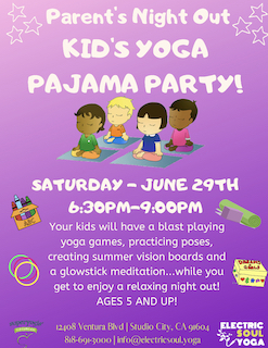 Parents Night Out: Kids Yoga Pajama Party