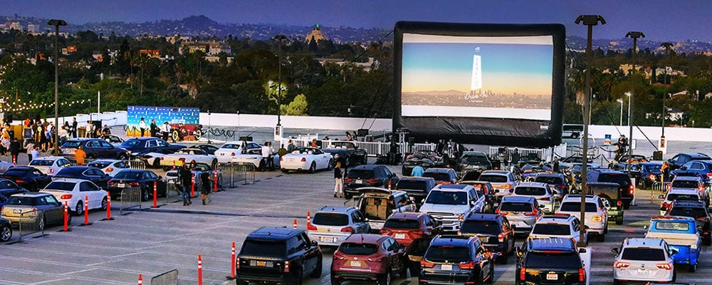 Level 8 Drive-In at The Grove
