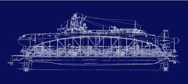 Battleship IOWA Museum's Coral Sea Exhibit
