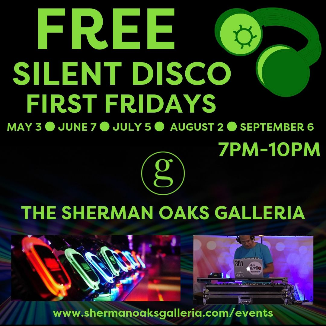 Sherman Oaks Galleria's Silent Disco