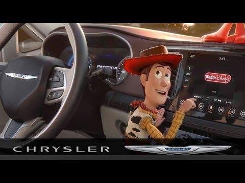 Toy Story 4 Chrysler Pacifica Tour