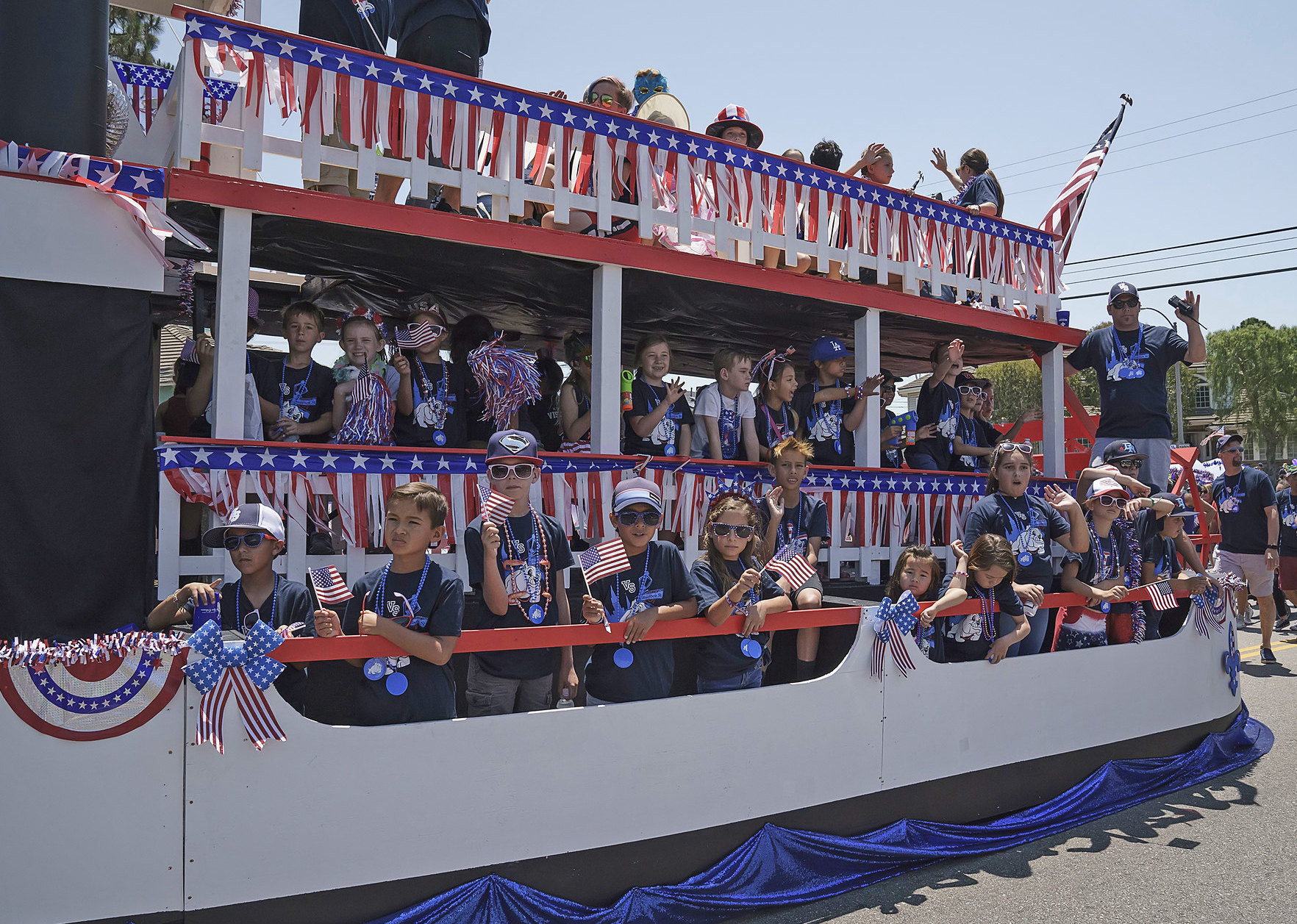 LAX Coastal 4th of July Parade