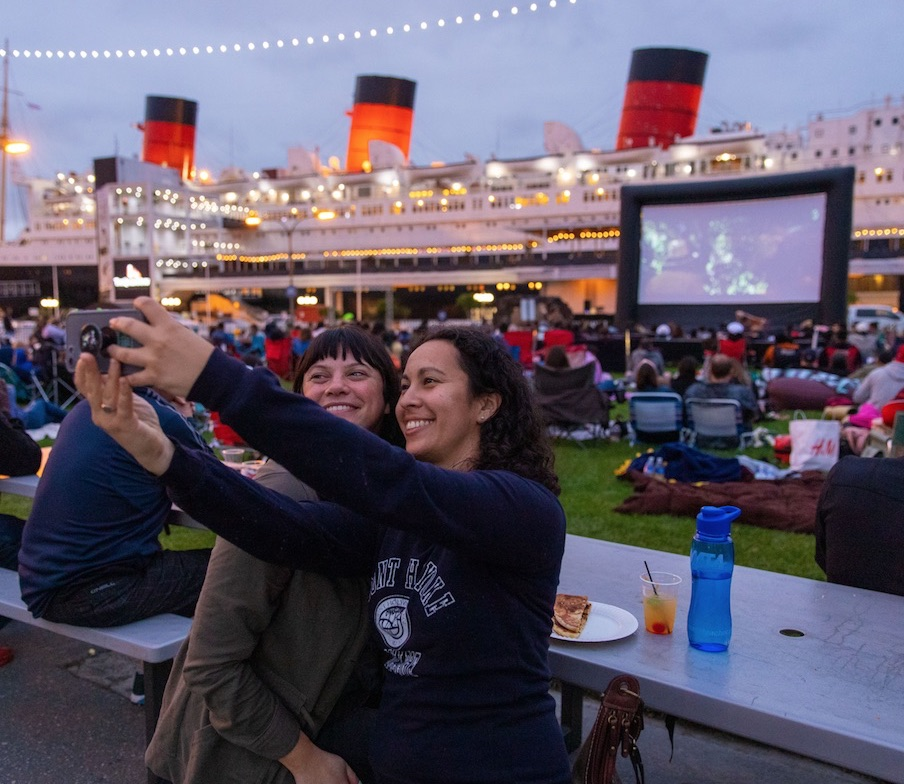 The Queen Mary's Movie Night Summer Series