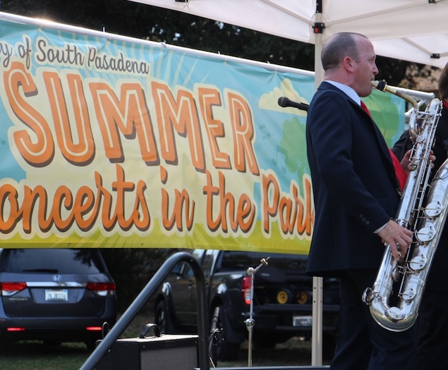 South Pasadena's Concerts in the Park