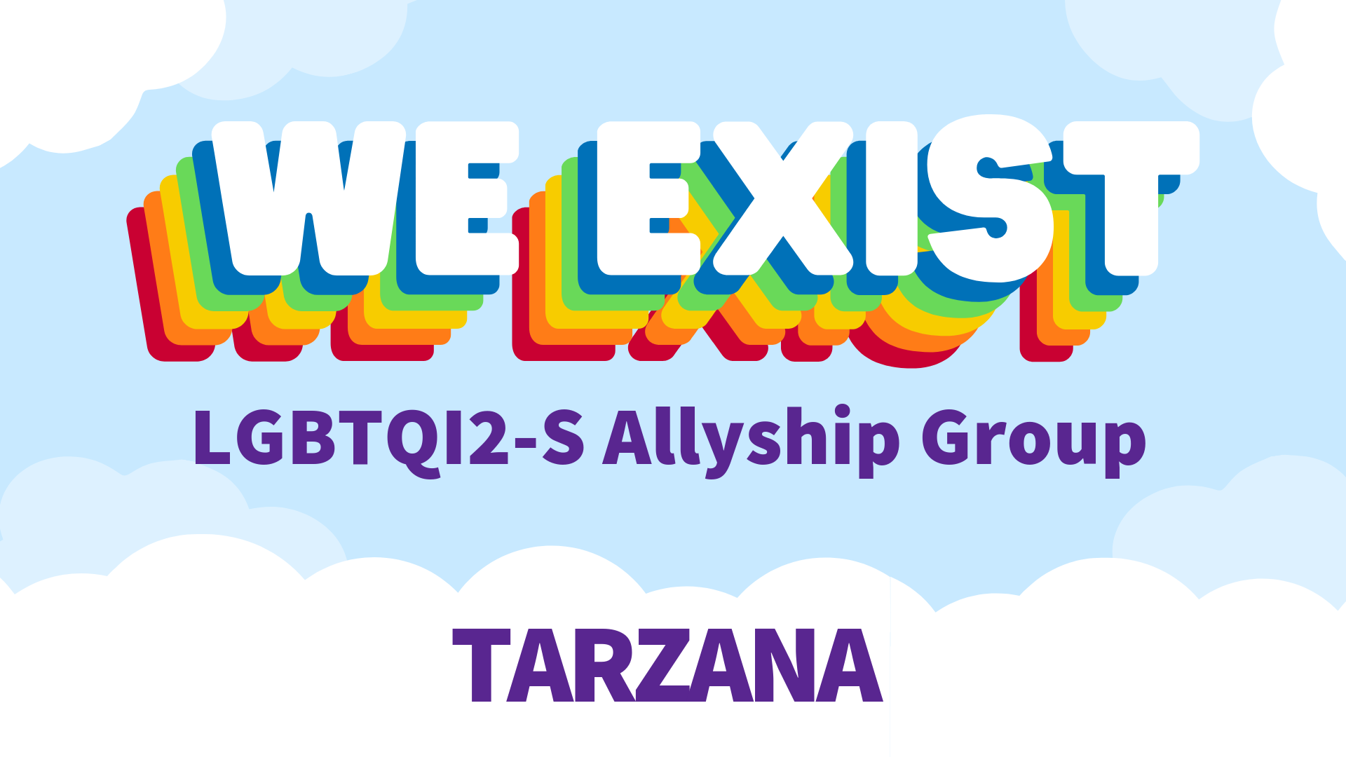 We Exist LGBTQ Allyship Group (SFV)