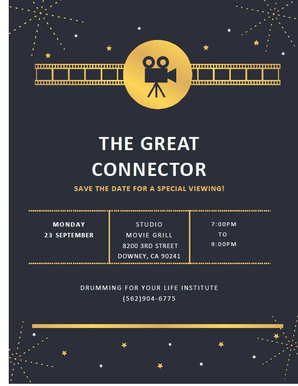 The Great Connector Viewing
