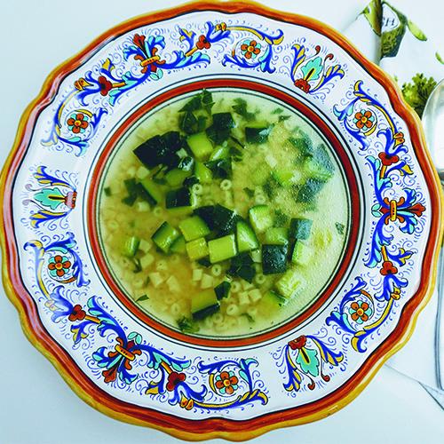 Leah Ferrazzani's Zucchini Soup